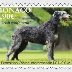 Sellos: MONACO 2019 - EXPOSITION CANINE INTERNATIONALE 2020 MNH. Lote 278585078