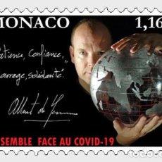 Sellos: MONACO 2020 - SOLIDARITY COVID- 19 MNH. Lote 278585633