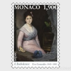 Sellos: MONACO 2020 - SEPAC - ARTWORK IN THE NATIONAL COLLECTION MNH. Lote 278585798