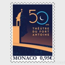 Sellos: MONACO 2020 - 50 YEARS OF THE FORT ANTOINE THEATER MNH. Lote 278586513