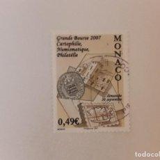Sellos: AÑO 2007 MONACO SELLO USADO. Lote 278682468