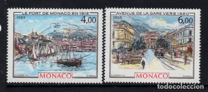 MONACO 1492/93** - AÑO 1985 - MONACO, LA BELLE EPOQUE (Sellos - Extranjero - Europa - Mónaco)