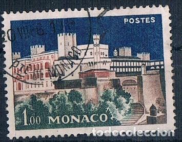 MONACO 1960 YVES 550 USADO (Sellos - Extranjero - Europa - Mónaco)
