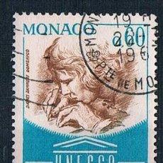 Sellos: MONACO 1966 YVES 701 USADO. Lote 288578093
