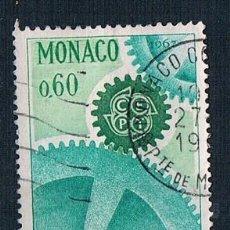 Sellos: MONACO 1967 YVES 730 USADO. Lote 288578283