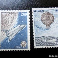 Sellos: *MONACO, 1983, EUOPA, YVERT 1365/66. Lote 288700173