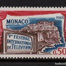 Sellos: MONACO 659** - AÑO 1963 - FESTIVAL INTERNACIONAL DE TELEVISION. Lote 289337868