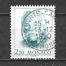 Sellos: MONACO SELLO USADO - 11/2. Lote 295021713