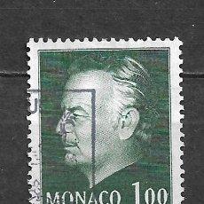 Sellos: MONACO SELLO USADO - 11/2. Lote 295021883