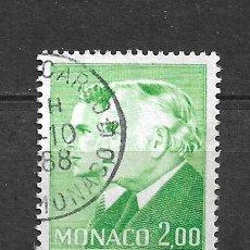 Sellos: MONACO SELLO USADO - 11/2. Lote 295021943