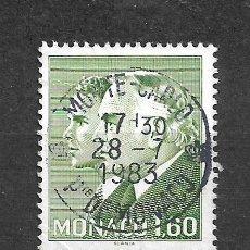 Sellos: MONACO SELLO USADO - 11/2. Lote 295021983