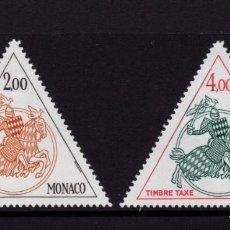 Sellos: MONACO TASA 71/72** - AÑO 1982 - CABALLERO MEDIEVAL. Lote 295337153