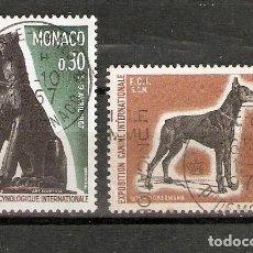 Sellos: MÓNACO. 1967-70. FAUNA. PERRO.. Lote 295620433