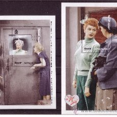 Sellos: MONGOLIA HB 265/66*** - AÑO 1999 - I LOVE LUCY. Lote 12861494