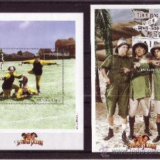 Sellos: MONGOLIA HB 268/70*** - AÑO 1999 - THE THREE STOOGES. Lote 12875745