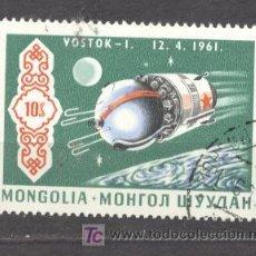 Sellos: MONGOLIA, VOSTOK-I, 12-4-1961. Lote 20747742