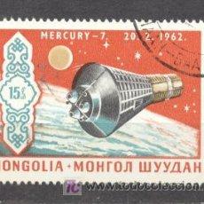 Sellos: MONGOLIA, MERCURY 7 - 20-02-1962. Lote 20747795