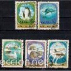 Sellos: FAUNA DE LA ANTÁRTIDA. MONGOLIA. SELLOS AÑO 1980. Lote 56890056
