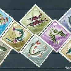 Sellos: MONGOLIA Nº 398/405 (MICHEL) AÑO 1965.. Lote 75634055