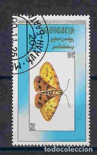 MARIPOSAS DE MONGOLIA. SELLO AÑO 1990 (Sellos - Extranjero - Asia - Mongolia)