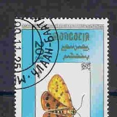 Selos: MARIPOSAS DE MONGOLIA. SELLO AÑO 1990. Lote 83607724