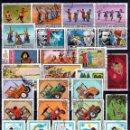 Sellos: MONGOLIA ( 16-468) LOTE 100 SELLOS DIFERENTES .*MH(4 FOTOS). Lote 98661219