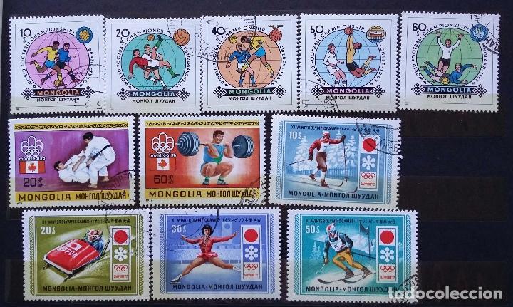 Sellos: MONGOLIA - COLECCIÓN EN USADOS - SE ADJUNTAN FOTOGRAFIAS DE TODOS LOS SELLOS - Foto 2 - 99959595