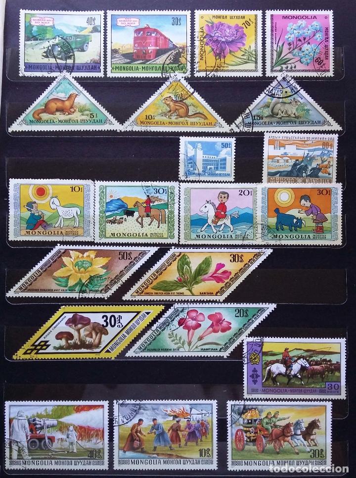 Sellos: MONGOLIA - COLECCIÓN EN USADOS - SE ADJUNTAN FOTOGRAFIAS DE TODOS LOS SELLOS - Foto 3 - 99959595