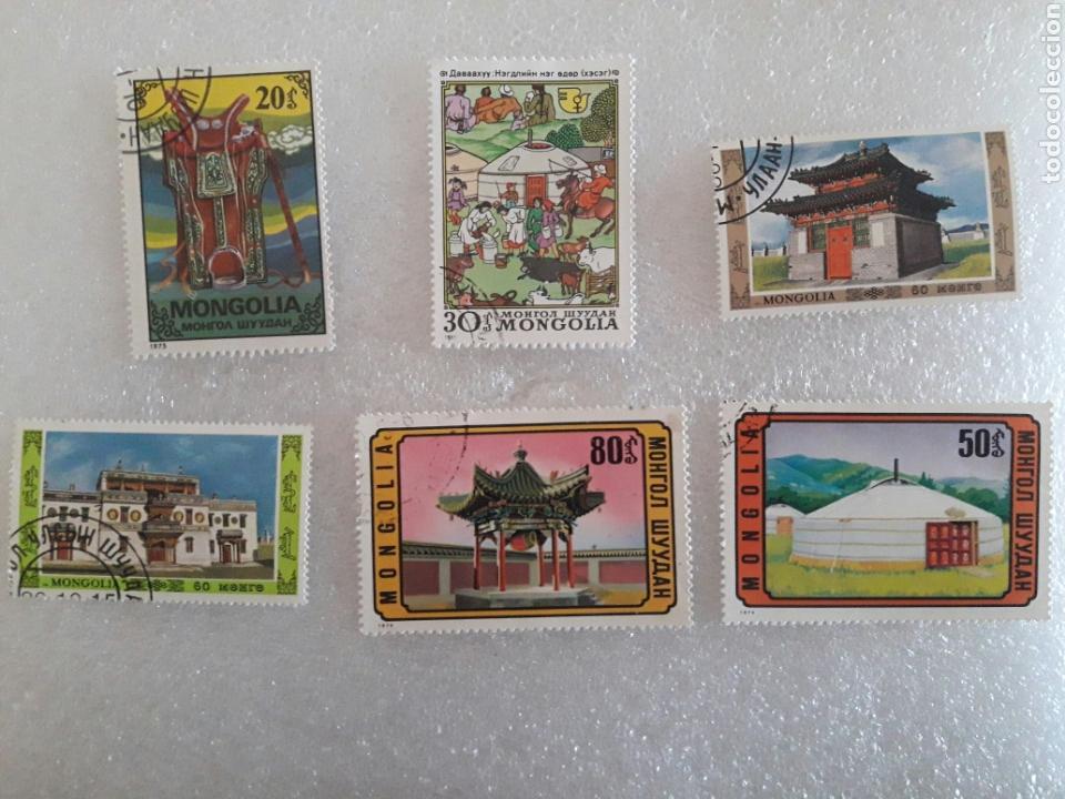 Sellos: 17 sellos Mongolia. - Foto 2 - 118257390