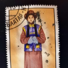 Sellos: MONGOLIA - COSTUMES - 60 M - 1986. Lote 147516258