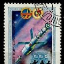 Sellos: MONGOLIA SCOTT:1169-(1981) (NAVE SOYUZ EN LA ESTACION ESPACIAL) (USADO). Lote 148091042