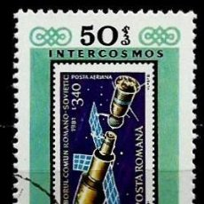 Sellos: MONGOLIA SCOTT:1232H-(1981) (PROGRAMA INTERKOSMOS: COPIA DEL SELLO RUMANO) (USADO). Lote 148092430