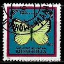 Sellos: MONGOLIA SCOTT:1515-(1986) (MARIPOSA: (COLIAS TYCHE) (USADO). Lote 148093934