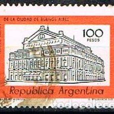 Francobolli: ARGENTINA 1408, TEATRO COLON DE BUENOS AIRES USADO. Lote 149572586