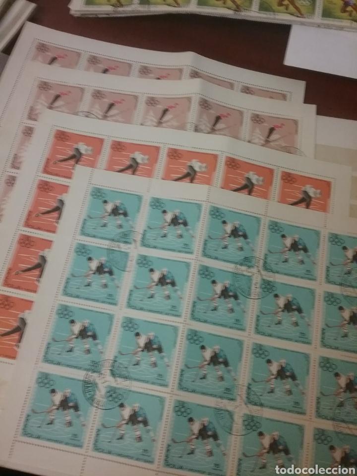 Sellos: Sellos R. Mongolia mtdos/coleccion/stock/sellos/pliegos/deportes/astros/cosmos/infancia/animales - Foto 9 - 196398435