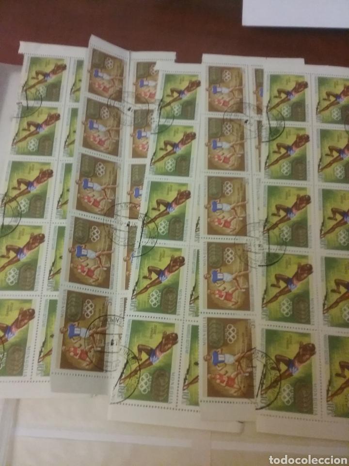 Sellos: Sellos R. Mongolia mtdos/coleccion/stock/sellos/pliegos/deportes/astros/cosmos/infancia/animales - Foto 2 - 196398435