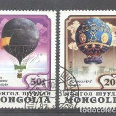 Sellos: MONGOLIA 1982 BALLOONS, USED AK.096. Lote 198274567