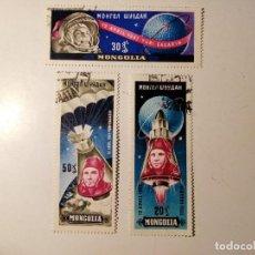 Sellos: MONGOLIA 1961 3 SELLOS. Lote 206246838