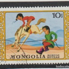 Timbres: SELLOS MONGOLIA. Lote 216516978