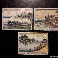 Timbres: JAPÓN YVERT 3145/7 SERIE COMPLETA USADA. PINTURAS 2001.. Lote 218854910