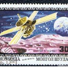 Sellos: MONGOLIA // YVERT 109 AEREO // 1979 ... USADO. Lote 221698288