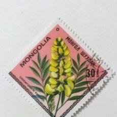 Sellos: SELLO DE MONGOLIA 30 M - 1979 - FLORES - USADO SIN SEÑAL DE FIJASELLOS. Lote 270095773
