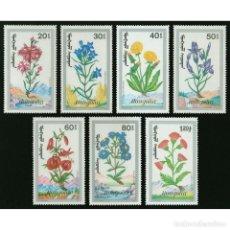 Sellos: ⚡ DISCOUNT MONGOLIA 1991 MEDICINAL HERBS MNH - FLOWERS, MEDICINAL PLANTS. Lote 270388753