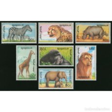 Sellos: ⚡ DISCOUNT MONGOLIA 1991 ANIMALS OF AFRICA MNH - FAUNA, TIGERS, LIONS, MONKEYS, ELEPHANTS, Z. Lote 274785938