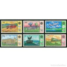 Sellos: ⚡ DISCOUNT MONGOLIA 1984 YEAR OF INTERNATIONAL COMMUNICATION MNH - COMMUNICATION, TRANSPORT. Lote 274797883