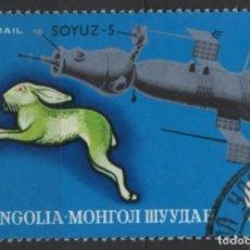 Sellos: MONGOLIA 1972 SELLO USADO * LEER DESCRIPCION. Lote 278281678