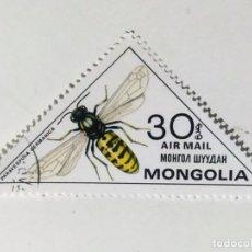Sellos: SELLO DE MONGOLIA 30 M - 1980 - INSECTOS - USADO SIN SEÑAL DE FIJASELLOS. Lote 288017733