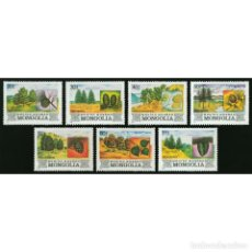 Sellos: ⚡ DISCOUNT MONGOLIA 1982 FOREST OF MONGOLIA MNH - FLORA, TREES. Lote 296063568