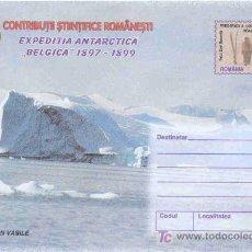Sellos: RUMANIA.- SOBRE ENTERO POSTAL EXPEDICION ANTARTICA BELGICA 1897-1899. Lote 27437855