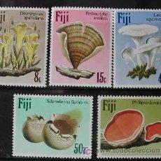 Sellos: FIJI 1984 SETAS 5 SERIE DE SELLOS. Lote 27550723